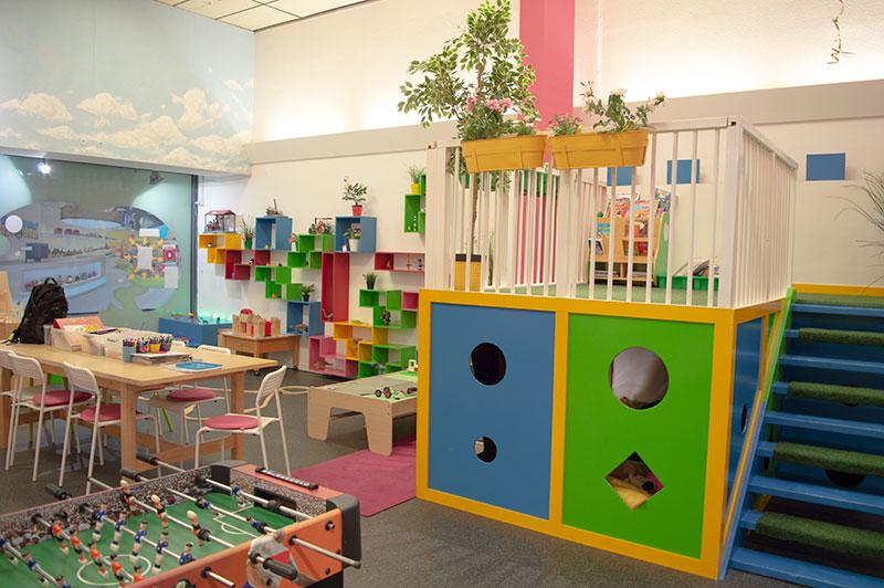de speelruimte bij Nannies Speelwinkel